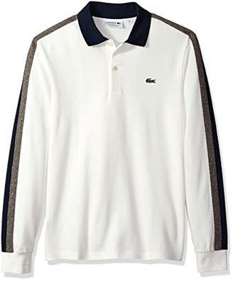 Lacoste Men's Long Sleeve REG FIT Made in France Pique Polo