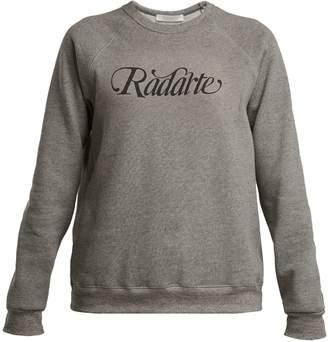 Rodarte Logo-print cotton-blend sweatshirt