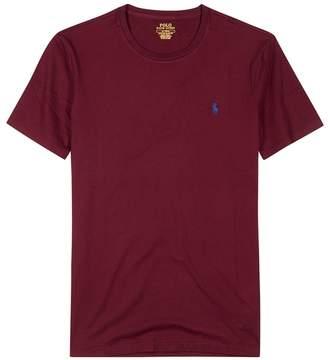 Polo Ralph Lauren Bordeaux Slim Cotton T-shirt