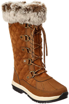 BearPaw Tahoe Gwyneth Waterproof Suede Boot