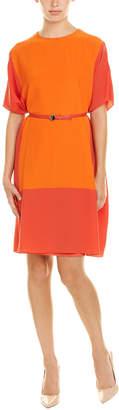 Akris Silk Shift Dress