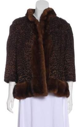 Christian Dior Mink-Trimmed Jacket
