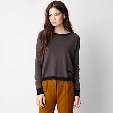 Demy Lee alexa cropped cashmere sweater