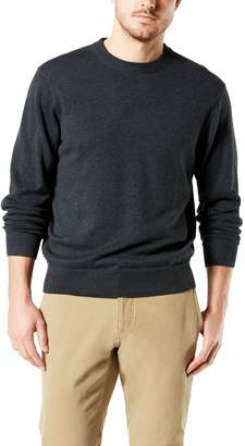 Dockers Men's Classic-Fit Solid Heathered Crewneck Sweater