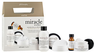 philosophy 'miracle worker' trial size kit ($64 Value)
