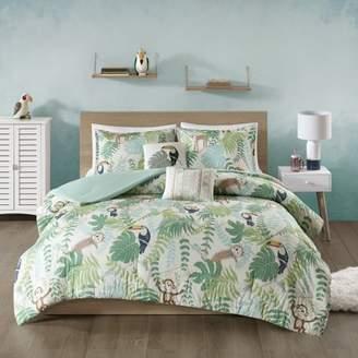 Home Essence Kids Safari Cotton Printed Comforter Set