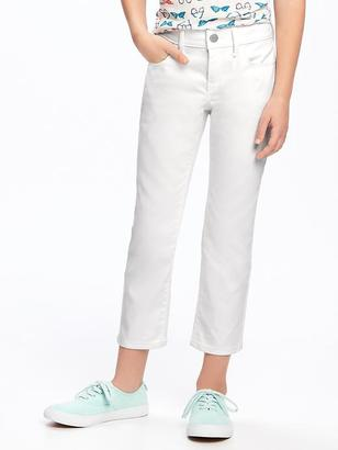 Stay-White Denim Skinny Capris for Girls $19.94 thestylecure.com