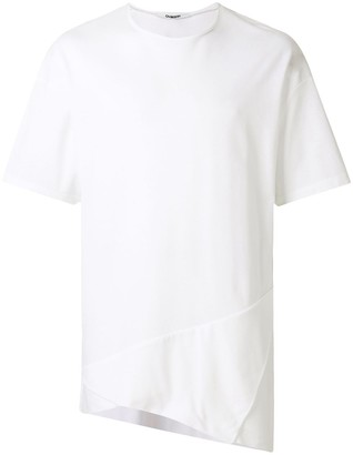Chalayan triangle fold detail T-shirt