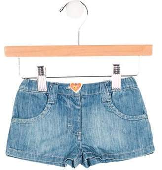 Agatha Ruiz De La Prada Girls' Denim Mini Shorts