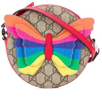 Gucci Kids Rainbow Butterfly bag