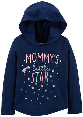 Carter's Little Star Pullover Hoodie - Baby Girl
