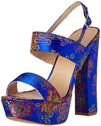 Qupid Women's BEAT-44 Heeled Sandal