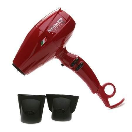 BabylissBaByliss PRO Nano Titanium Volare V2 Ferrari Professional Luxury Dryer Red