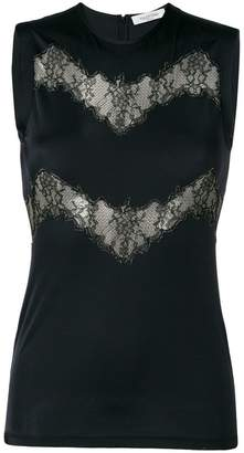 Valentino lace cut-out tank top