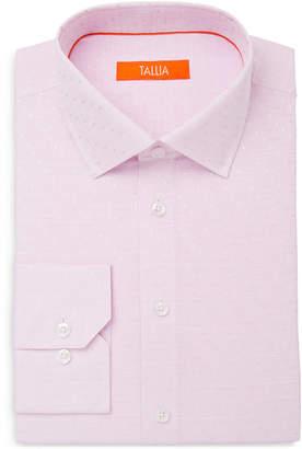 Tallia Men's Slim-Fit Tonal Dot Dress Shirt