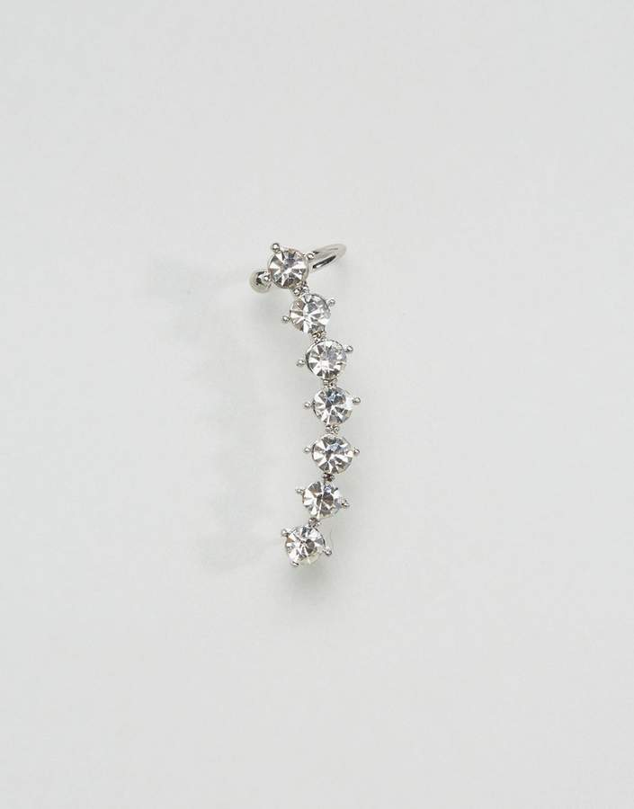 DesignB London Crystal Ear Climber