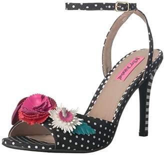 Betsey Johnson Women's Jaime Heeled Sandal