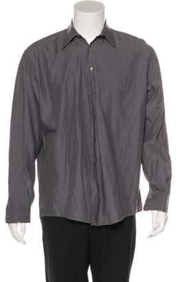 Giorgio Armani Woven Button-Up Shirt
