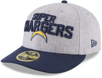 New Era Los Angeles Chargers Draft Low Profile 59FIFTY Fitted Cap