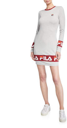 Fila Luna Long-Sleeve Dress