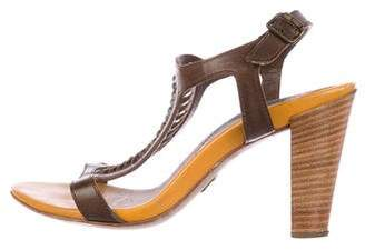 BOSS ORANGE Collection Woven Leather Sandals