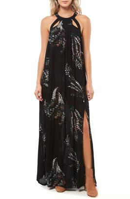 O'Neill Luka Cutout Maxi Dress