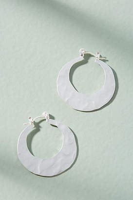Anthropologie Crescent Mini Hoop Earrings aM1185k0O