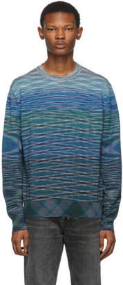 Missoni Blue Wool Sweater