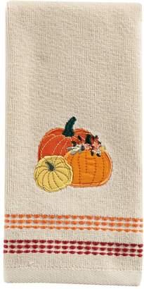 Celebrate Fall Together Pumpkins Trio Fingertip Towel