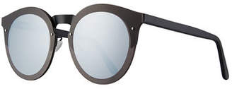 Illesteva Palermo Round Polarized Sunglasses