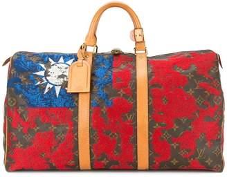 Jay Ahr Taiwan flag vintage Louis Vuitton keepall