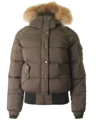 Pyrenex Aviator Fur Hooded Puffa Jacket