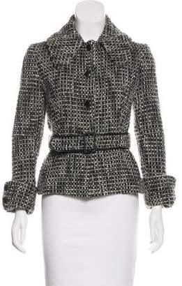 Martin Grant Virgin Wool Belted Jacket
