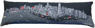 BEYOND CUSHIONS Chicago Embroidered Skyline Accent Pillow