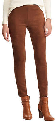Chaps Petite Stretch Textured Skinny Pants