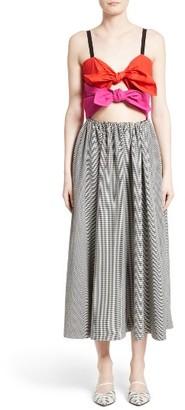 Women's Isa Arfen Double Knot Midi Dress $805 thestylecure.com