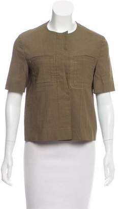 Marni Short Sleeve Button-Up Jacket