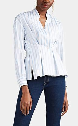 0cb58e024a8 Pale Blue Womens Cotton Blouse - ShopStyle UK