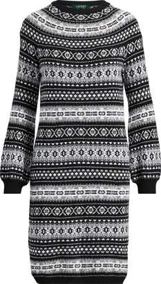 Ralph Lauren Fair Isle Sweater Dress