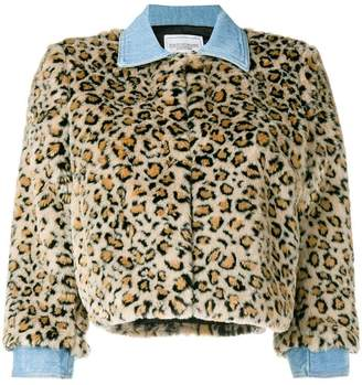 Couture Forte Dei Marmi Tiger cropped jacket