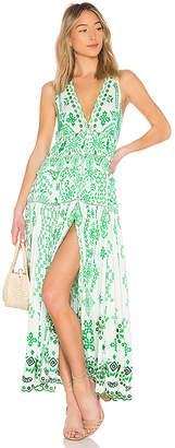 Rococo Sand Jade Maxi Dress