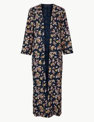 Marks and Spencer Printed Long Sleeve Kimono