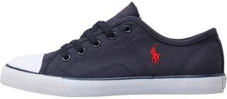 Ralph Lauren Boys Dyland Canvas Trainers Navy