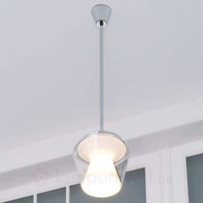 LED-Designer-Hängeleuchte Annex mit Glasschirm