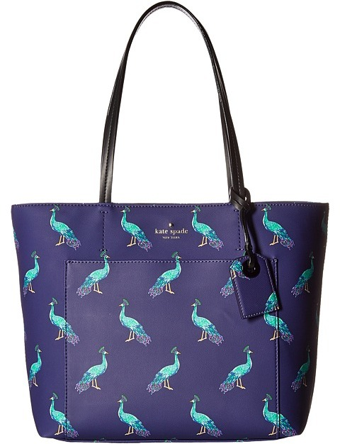 Kate Spade Kate Spade New York - Harding Street Peacock Small Riley Handbags