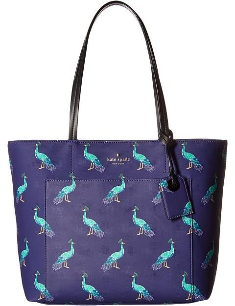 Kate SpadeKate Spade New York - Harding Street Peacock Small Riley Handbags