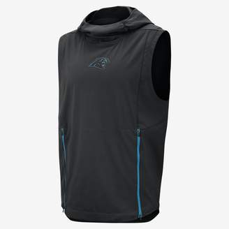 Nike Shield Fly Rush (NFL Panthers) Men's Hooded Pullover Vest