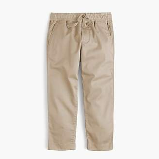 J.Crew Boys' stretch-cotton pull-on pant with reinforced knees