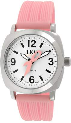 Tko Orlogi TKO Orlogi Women's Milano Breast Cancer Awareness Ribbon Watch