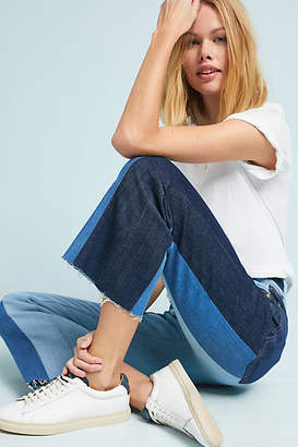 7 For All Mankind Ali High-Rise Cropped Flare Jeans